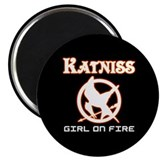 "Katniss Girl On Fire 2.25"" Magnet (100 pack)"