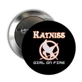 Katniss Girl On Fire 2.25&quot; Button (100 pack)
