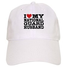 I Love My National Guard Husband Baseball Cap
