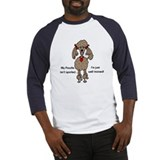 Chocolate Poodle Baseball Jersey