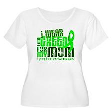 I Wear Lime 6.4 Lymphoma T-Shirt