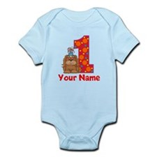 1st Birthday Puppy Infant Bodysuit