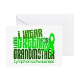 I Wear Lime 6.4 Lymphoma Greeting Cards (Pk of 10)