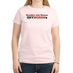 Breeders who Rescue Women's Pink T-Shirt