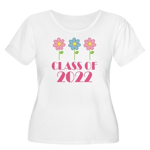 2022 School Class Women's Plus Size Scoop Neck T-S