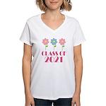 2021 School Class Women's V-Neck T-Shirt