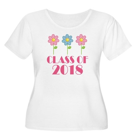 2018 School Class Women's Plus Size Scoop Neck T-S