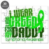 I Wear Lime 6.4 Lymphoma Puzzle