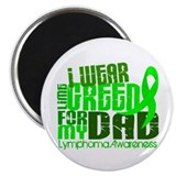 "I Wear Lime 6.4 Lymphoma 2.25"" Magnet (10 pack)"