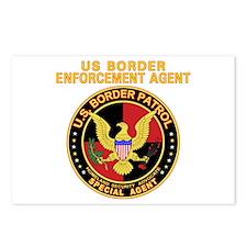 Border Patrol -  Postcards (Package of 8)