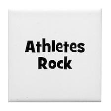 ATHLETES  Rock Tile Coaster