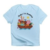 1st Birthday Noah's Ark Infant T-Shirt