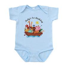 1st Birthday Noah's Ark Onesie
