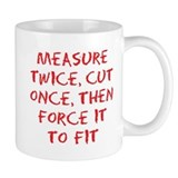 measure force Small Mug