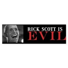 Rick Scott Bumper Sticker