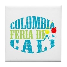 Cool Colombiano Tile Coaster