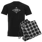 Colorado Girls Kick Ass Men's Dark Pajamas