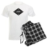 Colorado Girls Kick Ass Men's Light Pajamas