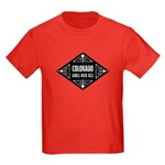 Colorado Girls Kick Ass Kids Dark T-Shirt