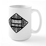 Colorado Girls Kick Ass Large Mug