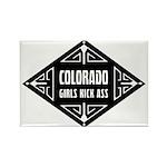 Colorado Girls Kick Ass Rectangle Magnet (10 pack)