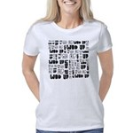 I heart Gale Maternity Dark T-Shirt
