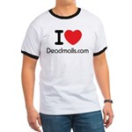 "I Love Deadmalls.com Stylish ""Ringer"" T-"