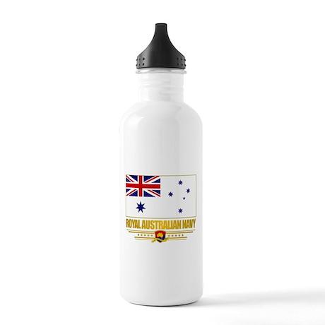 """""""Royal Australian Navy"""" Stainless Water Bottle 1.0"""