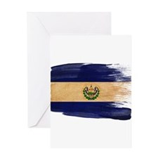 El Salvador Flag Greeting Card