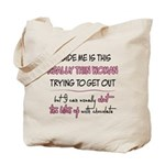 Inner Thin Woman Tote Bag