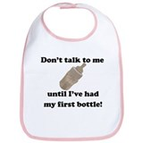 First Bottle Bib (pink)