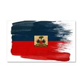 Haiti Flag Car Magnet 20 x 12