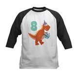 8th Birthday Dinosaur Tee