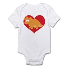 Dinosaur Lover Gift Infant Bodysuit