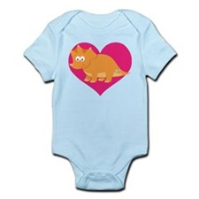 Dinosaur Lover Gift Infant Bodysuit