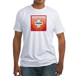 Red Cross Preppers Fitted T-Shirt