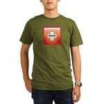 Red Cross Preppers Organic Men's T-Shirt (dark)