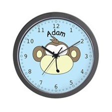 Adam - Monkey Wall Clock