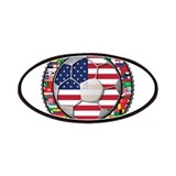 United States Flag World Cup Patches