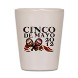Cinco De Mayo 2012 Shot Glass