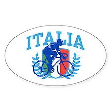 Italia Cycling (male) Bumper Stickers