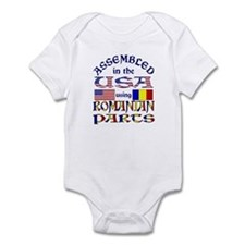 USA/Romanian Parts Infant Creeper