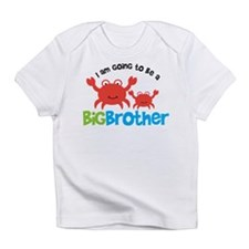 Crab going to be a Big Brothe Infant T-Shirt