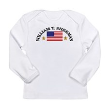 William T. Sherman, USA Long Sleeve Infant T-Shirt