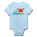 Boy Crab Lil' Beach Bum Onesie