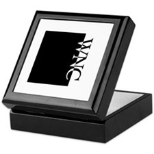 WNC Typography Keepsake Box