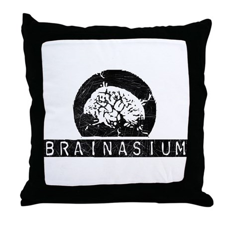 Brainasium Throw Pillow