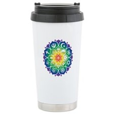 Religions Mandala Ceramic Travel Mug
