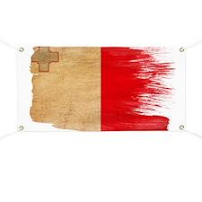 Malta Flag Banner