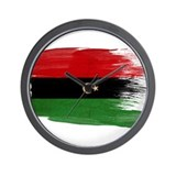 Republic of Libya Flag Wall Clock